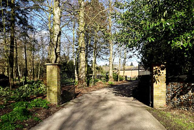 Entrance to Ellingham Hall