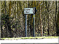 TM3692 : Roadsign on the A143 Yarmouth Road by Adrian Cable