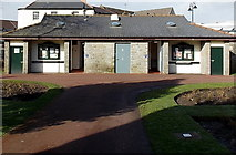 SS7597 : Victoria Gardens public toilets, Neath by Jaggery