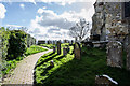 TQ8218 : Churchyard, St George's church, Brede by Julian P Guffogg