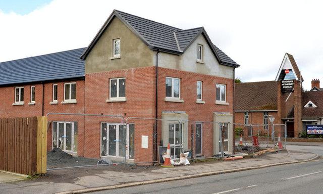 Palmerston housing site, Belfast - March 2014(1)