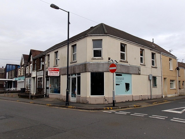 Former Co-operative Pharmacy in Neath