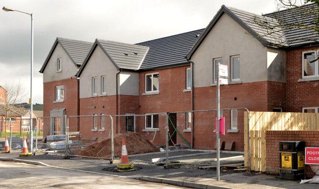 Palmerston housing site, Belfast - March 2014(2)