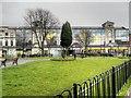 SD8010 : Kay Gardens and Former Co-operative Society Emporium by David Dixon