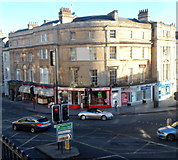 ST7565 : A4/A36 Junction in Bath by Jaggery