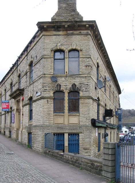 Halifax - triangular building on Square Road