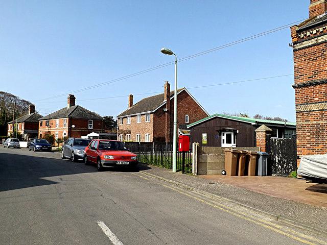 Westwood Ho & Railway Station Postbox