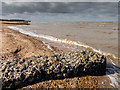TF6843 : Beach at Old Hunstanton by Kim Fyson