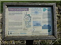 SK8604 : Information board at Martinsthorpe by Mat Fascione