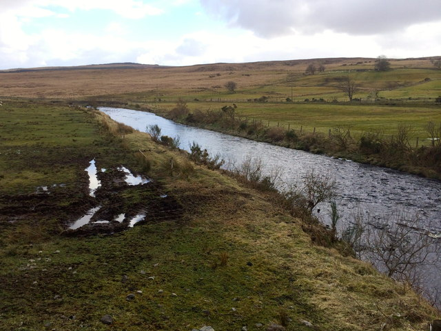 Mournebeg River at Tievecloghoge