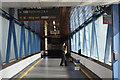 SJ9122 : Saxophone at Stafford Station by Stephen McKay