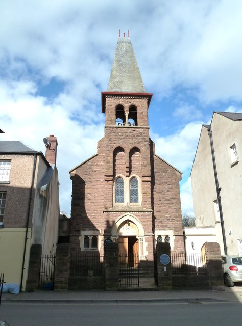 St Mary's Catholic church, Monmouth