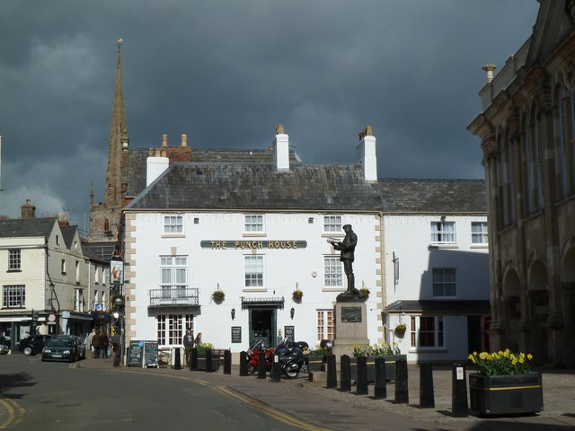 Monmouth town centre