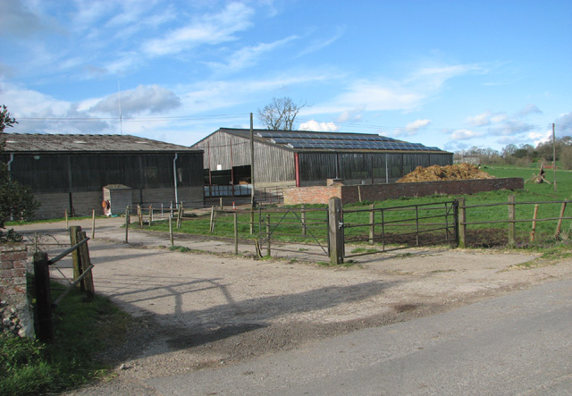 Sheds by Low Farm