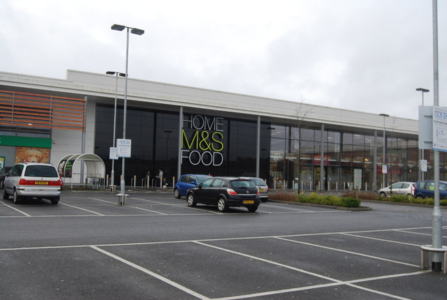 M & S, Fountain Retail Park