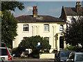 TQ3377 : Semi-detached Regency-style houses, Glengall Road, Peckham by Robin Stott