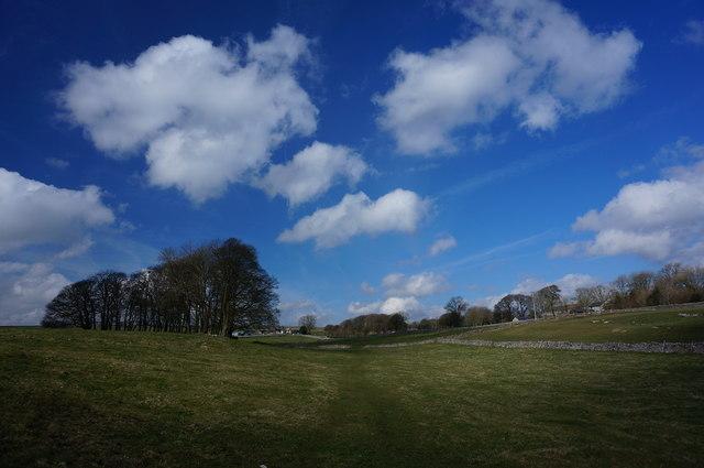 Blue sky at Flagg