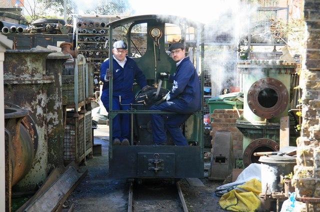 London Museum of Water & Steam - waterworks railway