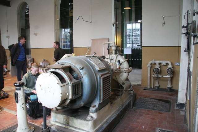 London Museum of Water & Steam - the electric house