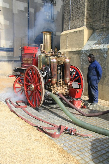 London Museum of Water & Steam - trench engine