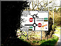 TM2041 : Roadsign on Nacton Road by Adrian Cable