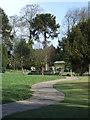 TA2069 : Winding path, Sewerby Hall by JThomas