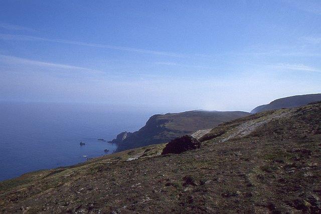 Edge of the cliffs, Crockalough