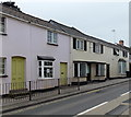 SO7219 : Former post office and village shop in Huntley by Jaggery