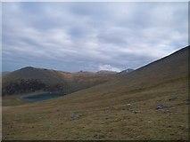 SH6161 : Marchlyn Mawr Reservoir from the lower slopes of Elidir Fawr by Eric Jones