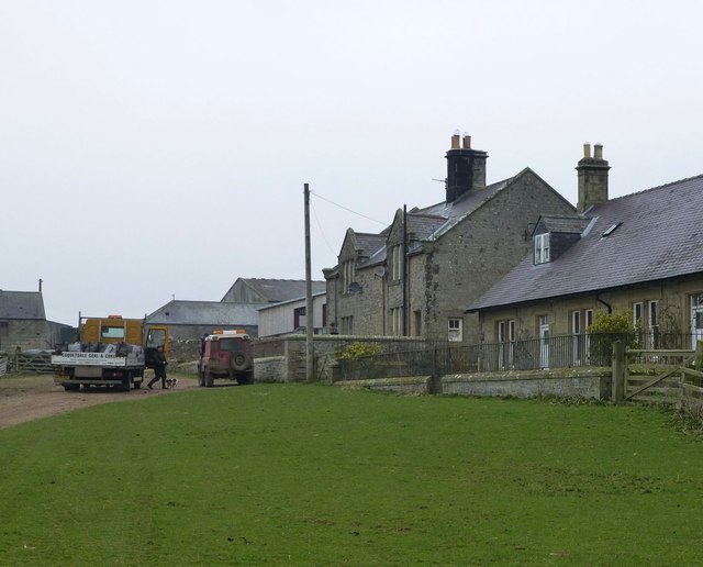 Coal delivery to Low Trewhitt Cottages