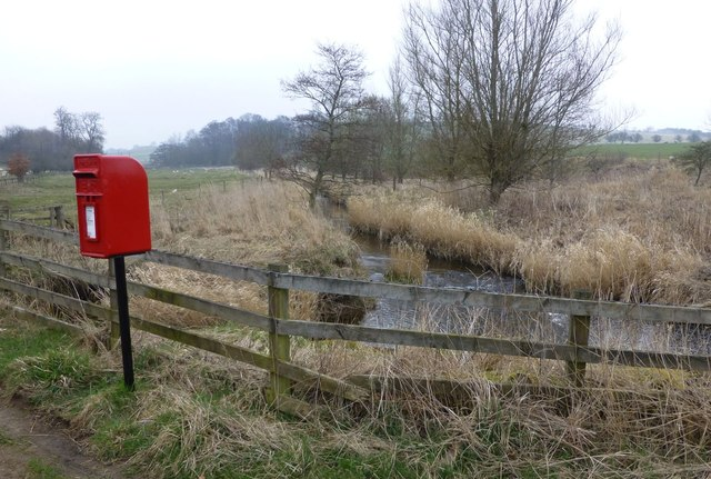 Very rural postbox