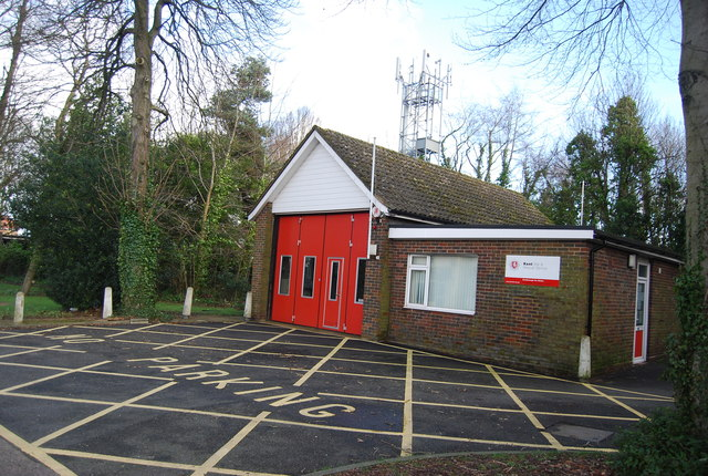 Southborough Fire Station by N Chadwick