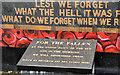 J4873 : World War 1 mural, Newtownards (2) by Albert Bridge