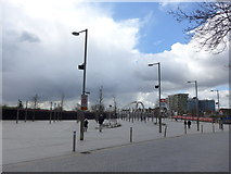 TQ1985 : A perambulation of Wembley Stadium (10) by Basher Eyre