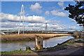 SX8671 : Town Quay Bridge by Richard Dorrell