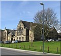 SD9951 : St Andrew's United Reformed Church and Methodist Church, Newmarket St by Mike Kirby