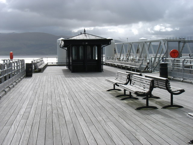 Beaumaris: the end of the pier