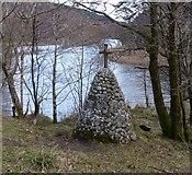 NM9080 : The McKellaig Cairn, Glenfinnan by Phillip Williams