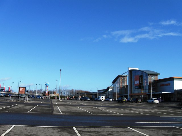 Durham City Retail Park C Alex Mcgregor Cc By Sa 2 0 Geograph