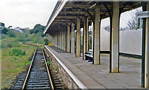 SW8132 : Falmouth Docks station, 1995 by Ben Brooksbank