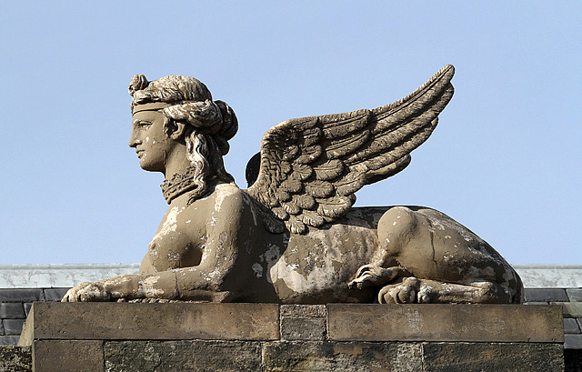 The Lauderdale House Sphinx at Dunbar