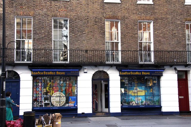 The London Beatles Store on Baker Street