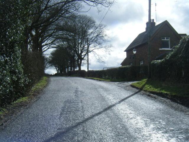 Lane near Toft Lodge Farm