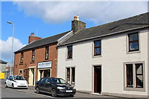 NS4927 : 'Mauchline Ware' - Kilmarnock Road, Mauchline by Leslie Barrie