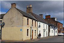 NS4927 : Corner of Kilmarnock Road & High Street, Mauchline by Leslie Barrie
