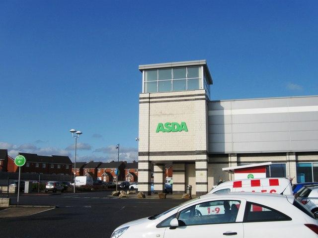 ASDA, Byron Place, Seaham