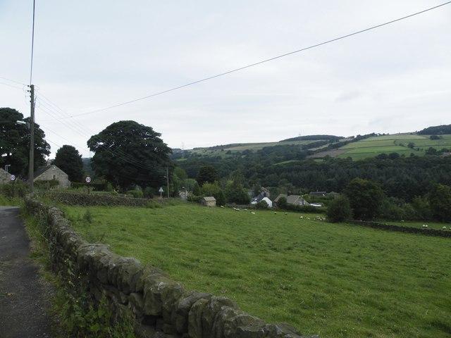 View from the Village Smithy, Mortimer Road, Midhopestones, near Stocksbridge - 3