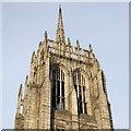 NJ9406 : Tower and spire, Greyfriars (John Knox) Kirk, Broad Street, Aberdeen by Bill Harrison