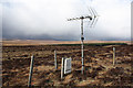 NC5736 : TV aerial near Altnaharra by Dorothy Carse