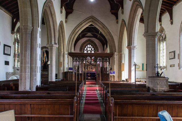 Interior All Saints Church Barrowby 169 J Hannan Briggs Geograph Britain And Ireland